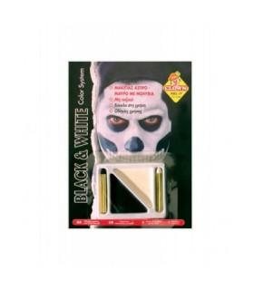 Αξεσουάρ μεταμφίεσης - Μακιγιάζ Ασπρο Μαύρο Με Μολύβια από το looklike.gr