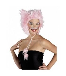 Αξεσουάρ μεταμφίεσης - Ροζ Καπέλο Γάτας Γούνινο από το looklike.gr
