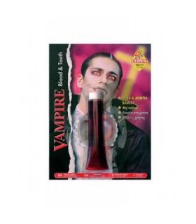Αξεσουάρ μεταμφίεσης - Μακιγιάζ Αίμα Και Δόντια Δράκουλα από το looklike.gr