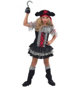 Παιδική Στολή Πειρατίνα Τρόμου για κορίτσια από το looklike.gr