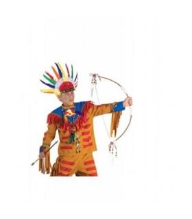Αξεσουάρ μεταμφίεσης - Τόξο Ινδιάνου Με Φτερά Και Βέλη από το looklike.gr