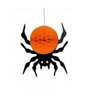 Αξεσουάρ μεταμφίεσης - Γιρλάντα Halloween Αράχνη Κρεμαστή 25εκ. από το looklike.gr
