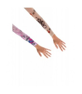 Αξεσουάρ μεταμφίεσης - Γάντια Με Τατουάζ από το looklike.gr