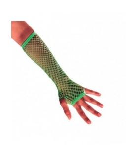 Αξεσουάρ μεταμφίεσης - Ανοιχτά Γάντια Λαχανί από το looklike.gr