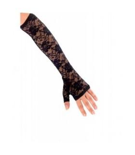 Αξεσουάρ μεταμφίεσης - Γάντια Μαύρα Με Δαντέλα από το looklike.gr