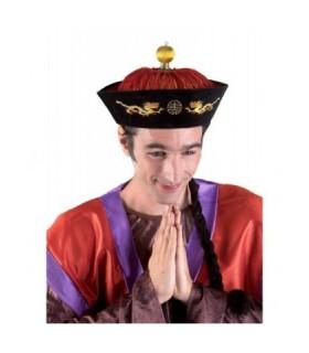 Αξεσουάρ μεταμφίεσης - Παραδοσιακό Καπέλο Κινέζου Με Κοτσίδα από το looklike.gr