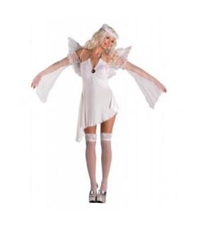 Γυναικεία Χριστουννιάτικη Στολή Αγγελος με Φτερά από το looklike.gr