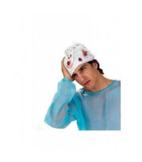Αξεσουάρ μεταμφίεσης - Γάζα Κεφαλιού Τραυματία Με Αίμα από το looklike.gr