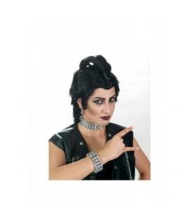 Αξεσουάρ μεταμφίεσης - Σετ Punk Βραχιόλη, Τσόκερ Και Σκουλαρίκια από το looklike.gr