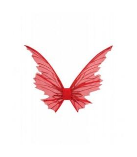 Αξεσουάρ μεταμφίεσης - Κόκκινα Φτερά Νεράϊδας 85x6 από το looklike.gr