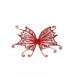 Αξεσουάρ μεταμφίεσης - Φτερά Πεταλούδας Κόκκινα από το looklike.gr