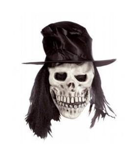 Αξεσουάρ μεταμφίεσης - Λάτεξ Μάσκα Χάρου με Καπέλο από το looklike.gr