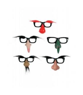Αξεσουάρ μεταμφίεσης - Αστεία Γυαλιά Με Μύτη Και Φρύδια από το looklike.gr