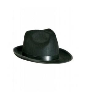 Αξεσουάρ μεταμφίεσης - Τσόχινο Καπέλο Μαφίας από το looklike.gr