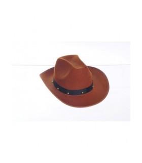 Αποκριάτικο καπέλο Cowboy καφέ από το Looklike.gr