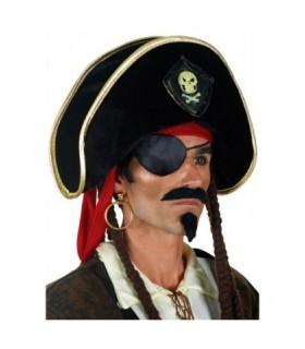 Αξεσουάρ μεταμφίεσης - Καπέλο Πειρατή Με Σήμα από το looklike.gr