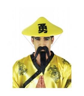 Αξεσουάρ μεταμφίεσης - Τσόχινο Καπέλο Κινέζου από το looklike.gr
