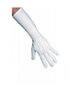 Αξεσουάρ μεταμφίεσης - Μακριά Γάντια Ασπρα από το looklike.gr