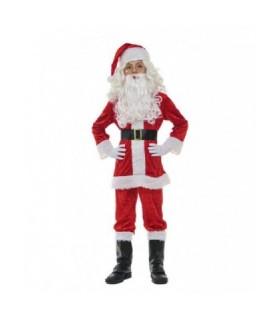Παιδική Χριστουγεννιάτικη Στολή Αη Βασίλης Με Μπότες για αγόρια από το looklike.gr