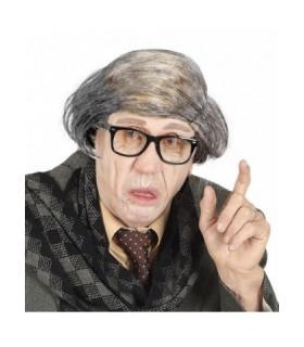 Αποκριάτικη περούκα για μεταμφίεση σε γέρο ή παππού από το Looklike.gr