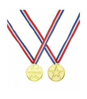 Αξεσουάρ μεταμφίεσης - Μετάλλιο Πλαστικό Winner από το looklike.gr