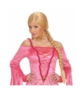 Αξεσουάρ μεταμφίεσης - Περούκα κοτσίδα ξανθιά  από το looklike.gr