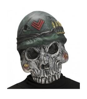 Μάσκα λάτεξ Σκελετός Army Skull στο Looklike.gr