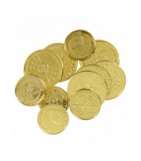 Λίρες χρυσές πλαστικές 12 τεμάχια από το Looklike.gr