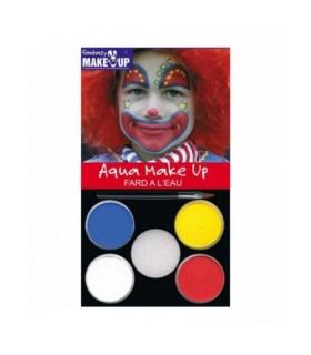 Κλοούν Set Face Painting για μακιγιάζ, από το looklike.gr