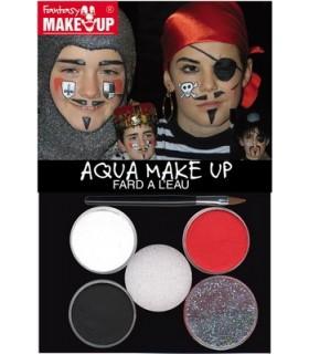 Πειρατής / Ιππότης Set Face Painting για μακιγιάζ, από το looklike.gr