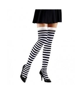 κάλτσες ριγέ ασπρόμαυρες Looklike.gr