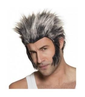 Αποκριάτικη περούκα Wolverin διαθέσιμη όλο το χρόνο
