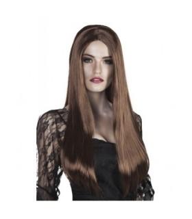 Περούκα καστανή μακριά ίσια από το Looklike.gr!