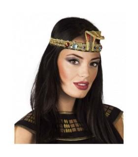 Αποκριάτικο αξεσουάρ για το κεφάλι, ιδανικό για μεταμφίεση σε Κλεοπάτρα βασίλισσα της Αιγύπτου