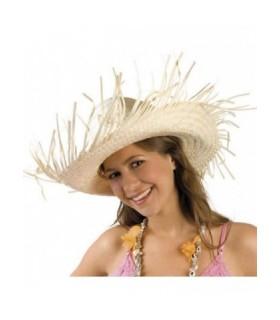 Καπέλο ψάθινο ιδανικό για μεταμφίεση Χαβανέζου ή χωριάτη