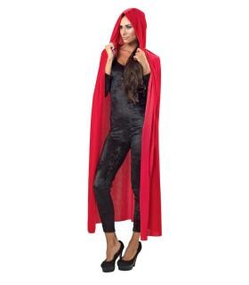 Γυναικεία Στολή Ντόμινο Βελούδο Κόκκινο από το looklike.gr
