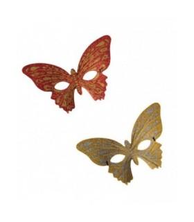 Μάσκα ματιών πεταλούδα με glitter από το Looklike.gr