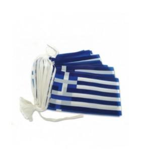 Γιρλάντα Ελληνικά Σημαιάκια 10μ.