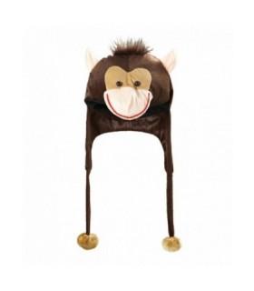 Αποκριάτικο καπέλο πίθηκος - μαϊμού άμεσα διαθέσιμο