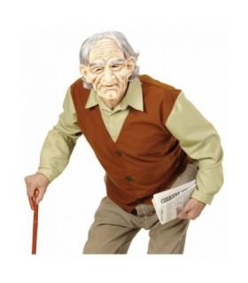 Ανδρική αποκριάτικη στολή ηλικιωμένος γέρος για πετυχημένες μεταμφιέσεις