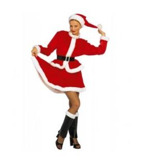 Χριστουγεννιάτικη γυναικεία στολή άμεσα διαθέσιμη