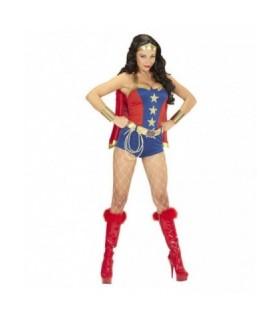 Αποκριάτικη γυναικεία στολή Super Power Gilr διαθέσιμη όλο το χρόνο