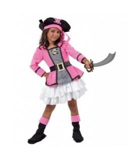 Αποκριάτικη παιδική στολή Μικρή Πειρατίνα Κουρσάρισσα