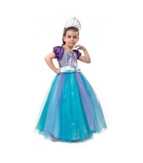 Αποκριάτικη στολή για κορίτσια Πριγκίπισσα Γοργόνα