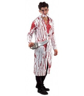 Αποκριάτικη στολή γιατρός με αίμα