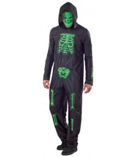 Αποκριάτικη στολή ενηλίκων Σκελετός με μάσκα