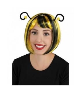 Αποκριάτικη περούκα Μέλισσα με κεραίες
