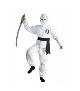 Αποκριάτικη στολή για αγόρια λευκός Νίντζα