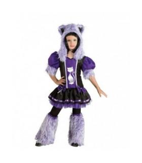 Αποκριάτικη στολή για κορίτσια Fluffy Cat