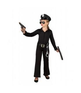 Αποκριάτικη στολή ολόσωμη για κορίτσια Αστυνόμος
